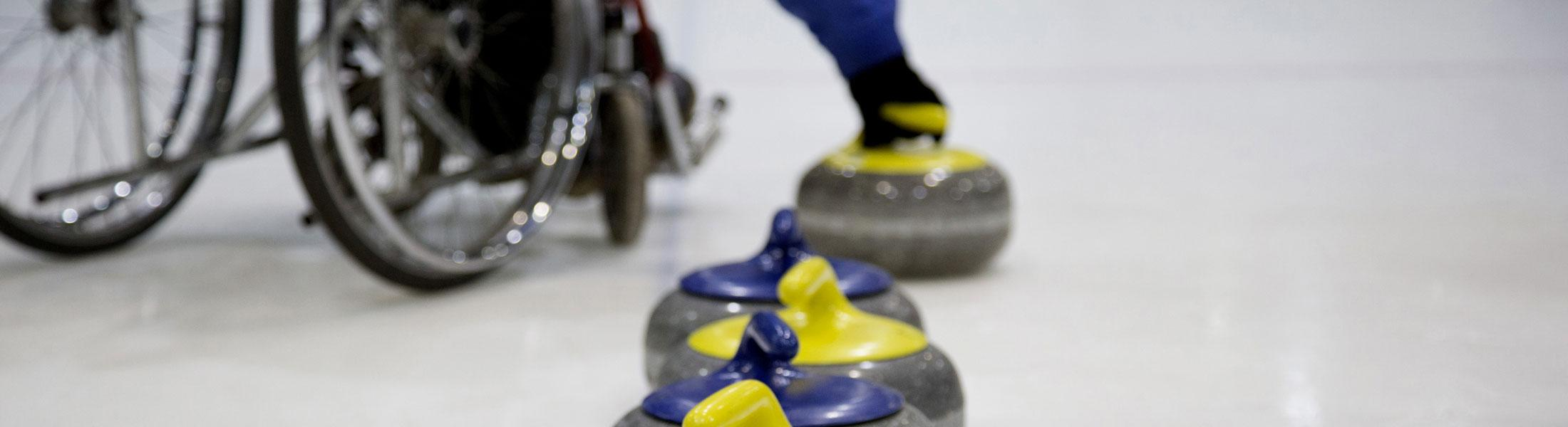 Wheelchair Curling Competition