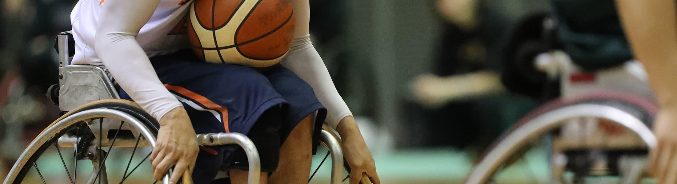 men's wheelchair basketball game
