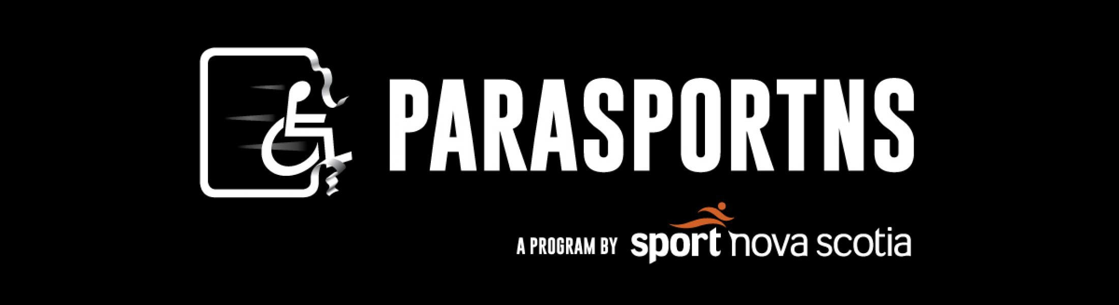 banner for parasport supported by sport Nova Scotia